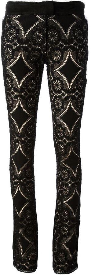 Antonio Berardi lace trousers