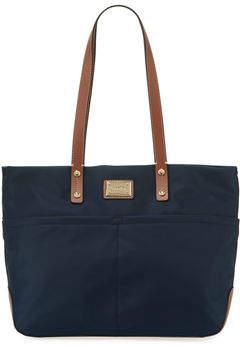 Iconic American Designer Teodora Dressy Nylon Tote Bag