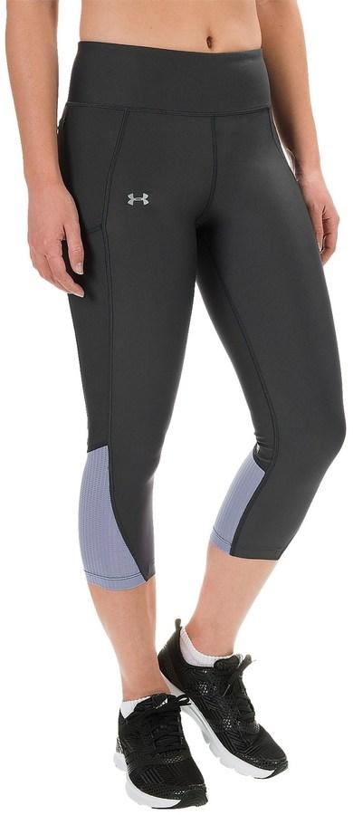 Under Armour HeatGear® Fly-By Running Capris (For Women)