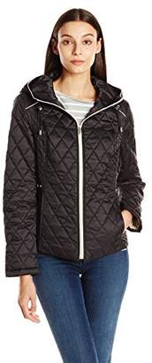 Nautica Women's Quilted Jacket $29.69 thestylecure.com