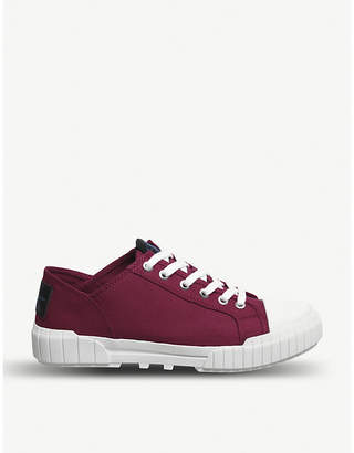Office Bianca low-top canvas trainers