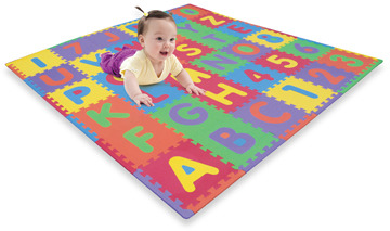 Bed Bath & Beyond Foam ABC & Numbers Playmat