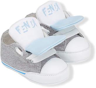 Fendi round toe sneakers