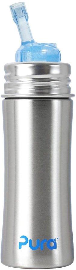 Pura Kiki Straw Cup - Natural Stainless - 7.2 oz