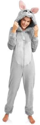 Secret Treasures Jammers Women's and Women's Plus Llama Union Suit