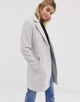 Asos Design DESIGN textured slim coat