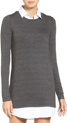 Women's Bailey 44 Layered Look Sweater Dress $248 thestylecure.com