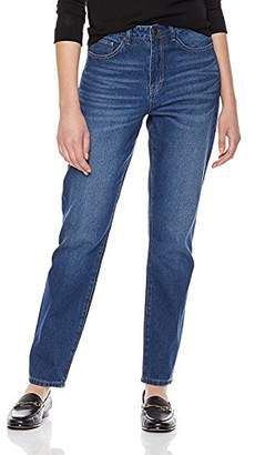 Parker Lily Women's Destroyed Ripped Holes Boyfriend Jean