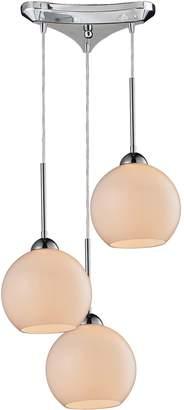 Cassandra Elk Lighting 3 Light Cascading Pendant