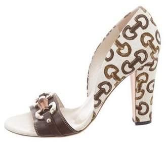 Gucci Horsebit D'Orsay Pumps