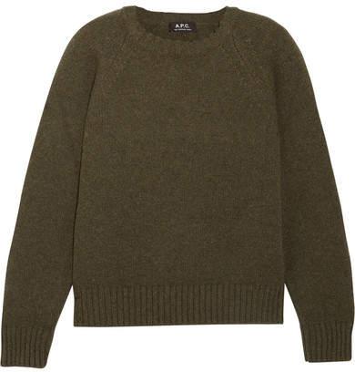 A.P.C. Atelier de Production et de Création Stirling Wool Sweater - Green