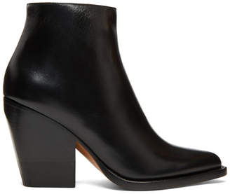 Chloé Black Rylee Low Boots
