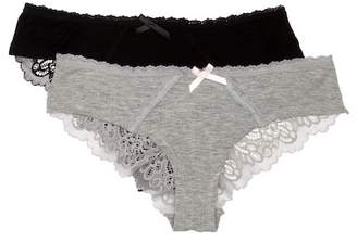 Honeydew Intimates Bri Hipster Panties - Pack of 2