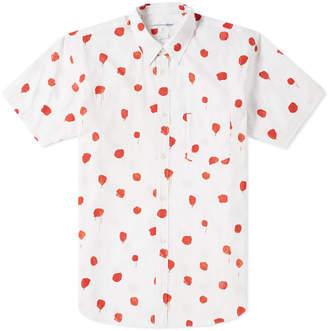 Comme des Garcons Short Sleeve Polka Dot Print Shirt