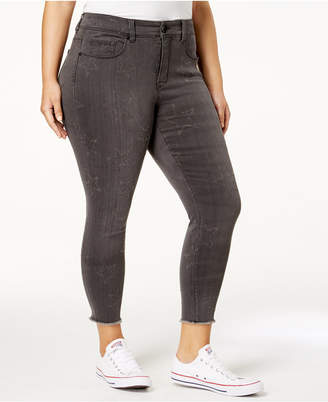 Melissa McCarthy Trendy Plus Size Star Skinny Jeans