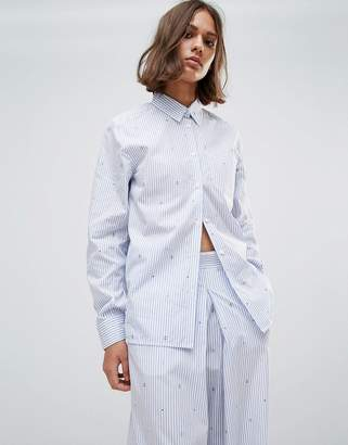Wood Wood Lori Striped Shirt