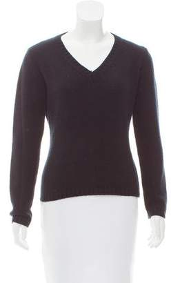 Max Mara V-Neck Knit Sweater