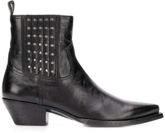 Saint Laurent studded ankle boots