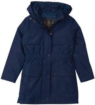 Barbour Girls Stratus Hooded Waterproof Jacket