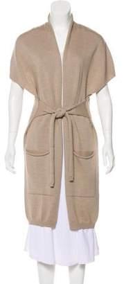 Max Mara Weekend Virgin Wool Longline Cardigan