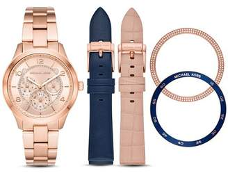 Michael Kors Runway Watch Gift Set, 38mm