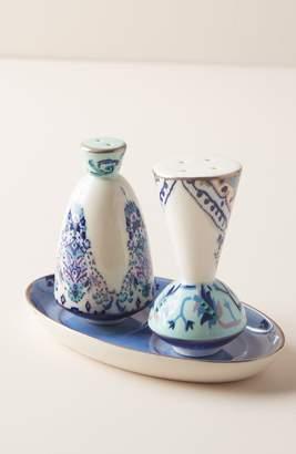 Anthropologie Lilia Salt & Pepper Shakers
