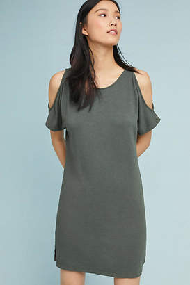 Monrow Stirling Open-Shoulder Dress