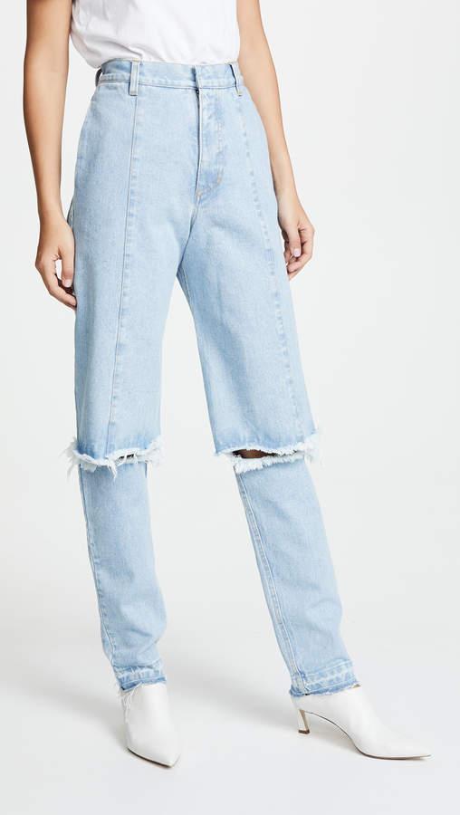 Ksenia Schnaider Slim Demi Jeans