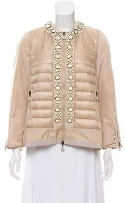 Moncler Alexis Embellished Jacket
