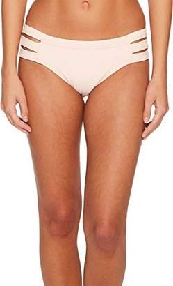 Seafolly Women's Inka Rib Multi Strap Hipster Bikini Bottom Swimsuit