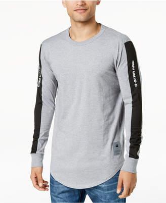 G Star G-Star Men's Swando Stripe Logo Long Sleeve T-Shirt, Created for Macy's