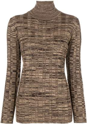 Marni stretch turtleneck sweater