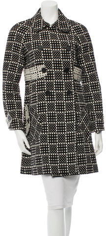Marc By Marc JacobsMarc by Marc Jacobs Wool Polka Dot Coat