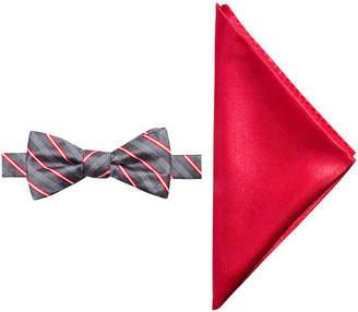 Jf J.Ferrar Stripe Bow Tie Set