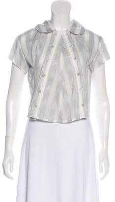Anrealage Co. Short Sleeve Blouse