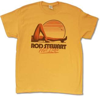 "Gildan Adult Rod Stewart ""Hot Legs Tour '14 (Vancouver-A.C.)"" T Shirt"