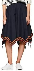 J.W.Anderson Women's Cotton Umbrella Skirt - Navy