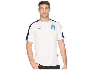 Puma FIGC Italia Stadium Jersey Men's Clothing