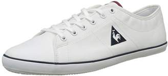 Le Coq Sportif Men's Slimset CVS Low-Top Sneakers, (Optical White/Rouge Ruby W)