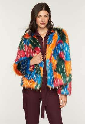 MillyMilly Multicolor Faux Fur Jacket