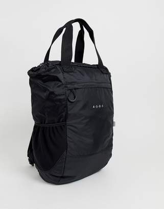 Asos 4505 4505 tote with backpack straps in water repellent fabric