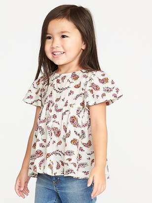 Old Navy Flutter-Sleeve Tunic for Toddler Girls