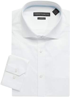 Vince Camuto Slim Fit Stretch Cotton Dress Shirt