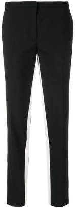Prada contrast-stripe tailored trousers