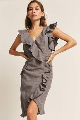 Forever 21 Ruffle Surplice Dress
