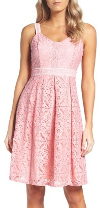 Women's Adrianna Papell Fit & Flare Dress $130 thestylecure.com