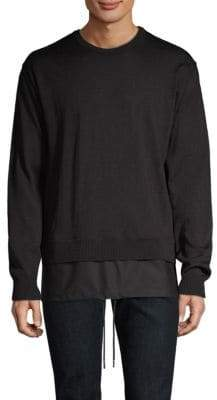Diesel Black Gold Combo Crewneck Sweater