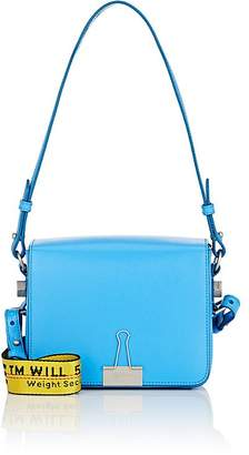 Off-White Women's Binder-Clip Small Leather Crossbody Bag