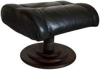 One Kings Lane Vintage Modern Leather Stool - Collections77