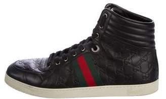 Gucci 2016 Guccissima Web Sneakers